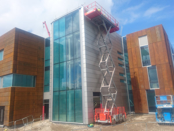 Sandwich Panels at Reading University