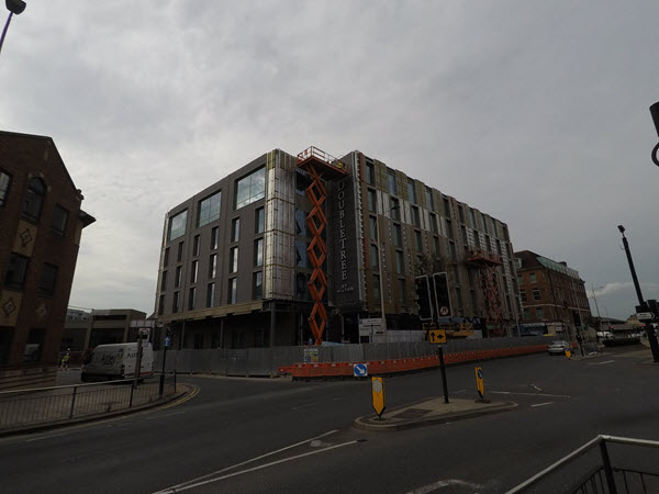 Complete Cladding at Hilton Hotel in Hull