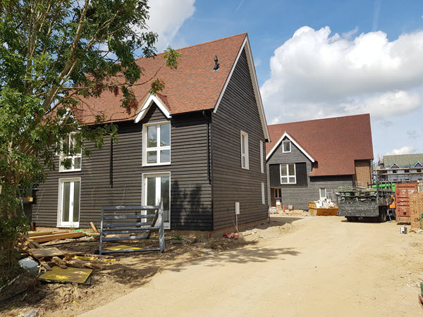 Wood Cladding in Horley