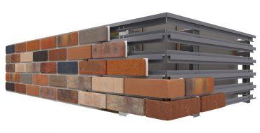 Brick slips cladding